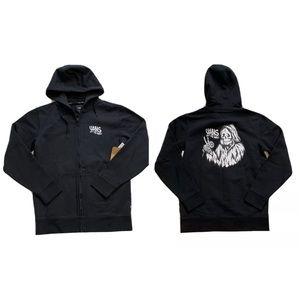 Vans Peace Reaper Full Zip Hoodie Sweater
